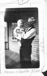 My grandfather as a child