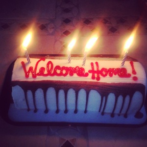 Welcome Home Ice Cream Cake